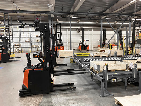 Autopilot SAE i fabriken