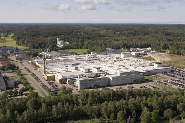 Toyotas fabrik i Mjölby