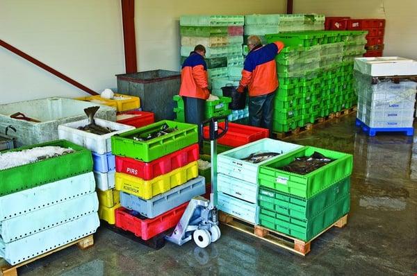 BT Lifter rostfri i livsmedelsindustrin
